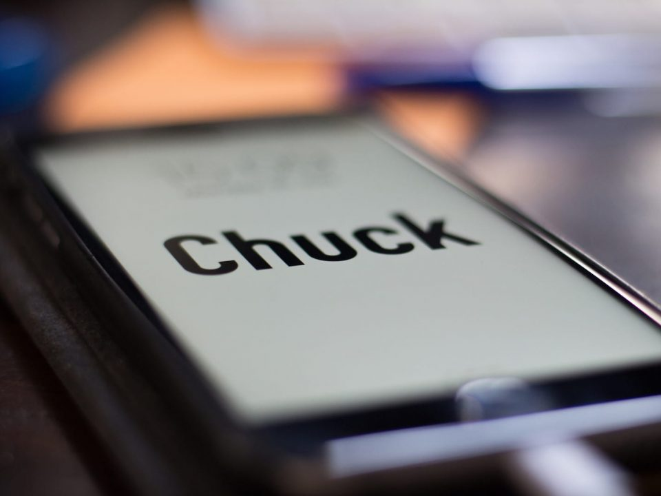 Chuck logo-design