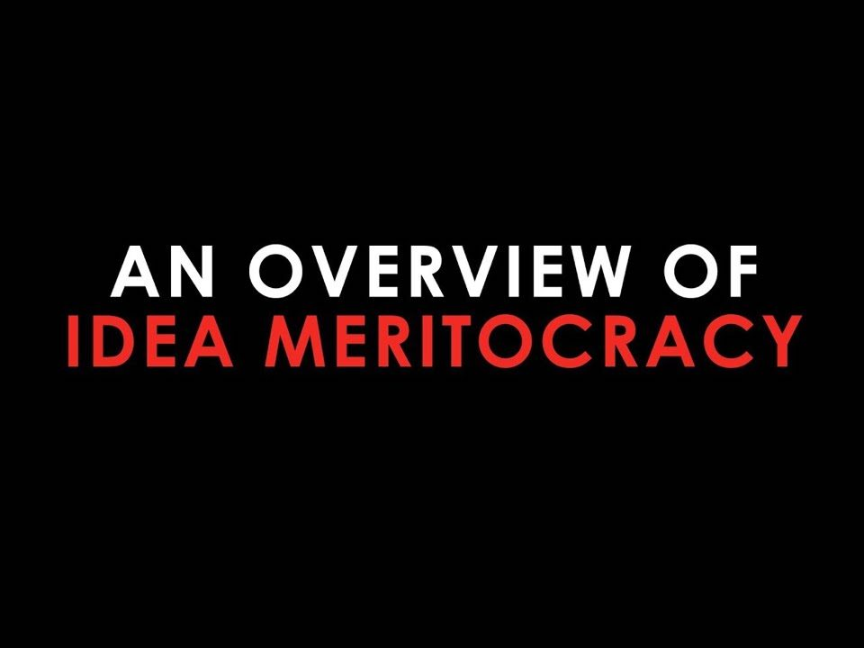 een idee meritocratie